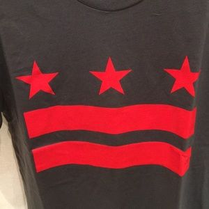 Next Level Apparel Shirts - DC Flag t shirt